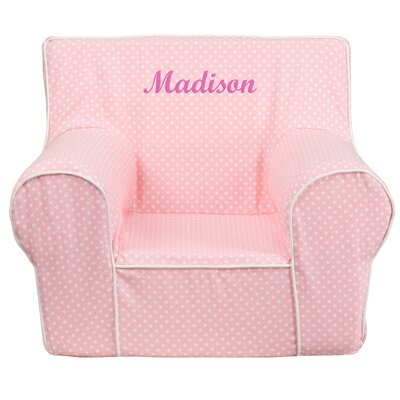 Flash Furniture Personalized Kids Cotton Foam Chair