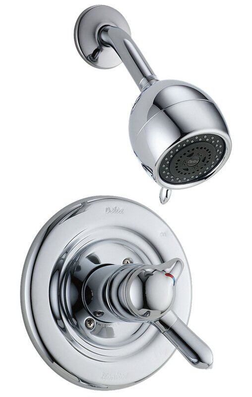 T17230 Delta Other Core Volume Control Shower Faucet With Lever