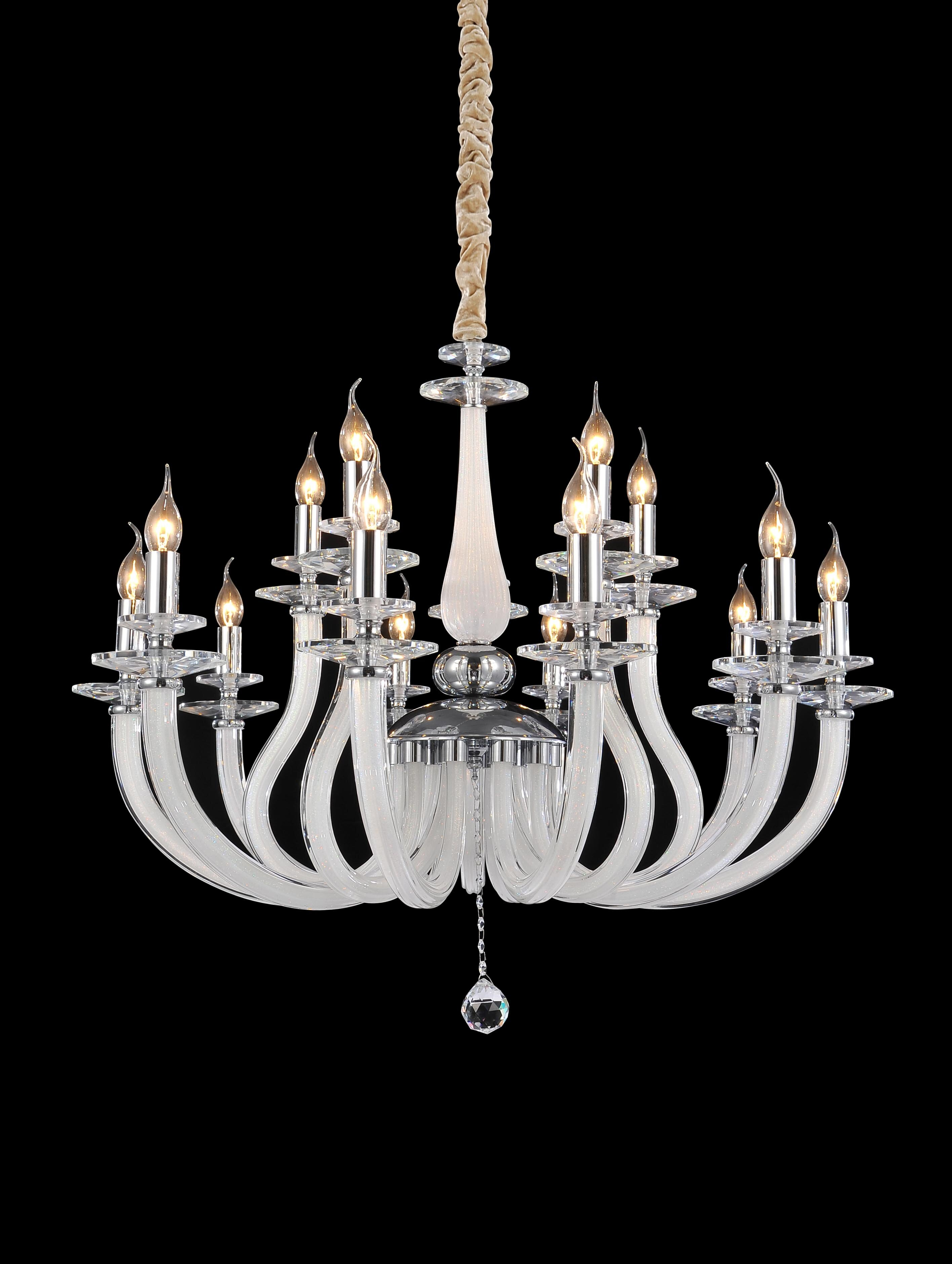 Michael Amini 15 Light Candle Style Classic Traditional Chandelier Wayfair