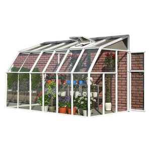 Sun Room 2 6 Ft. W x 14 Ft. D Greenhouse