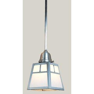 Arroyo Craftsman A-Line 1-Light Square/Rectangle Pendant
