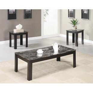 Ledyard 3 Piece Coffee Table Set