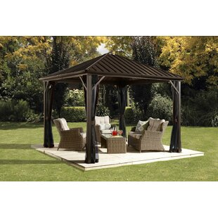 Sojag Dakota 12 Ft. W x 10 Ft. D Aluminum Patio Gazebo