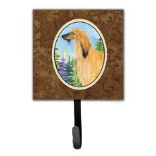 Afghan Hound Leash Holder and Wall Hook by Caroline's Treasures