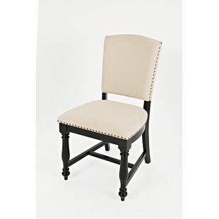 Bluebonnet Upholstered Dining Chair (Set of 2) August Grove