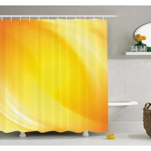 Radiate Light Lines like Sand with Digital Reflection Shower Curtain Set