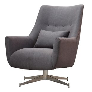 Great choice Fendley Swivel Lounge Chair by Ivy Bronx Reviews (2019) & Buyer's Guide
