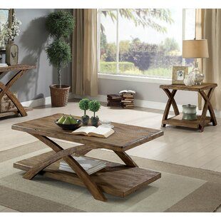 Foundry Select Black Mesa 3 Piece Coffee Table Set