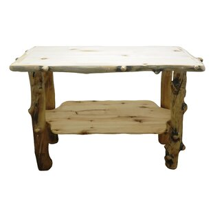 Mountain Woods Furniture Aspen Grizzly Console Table