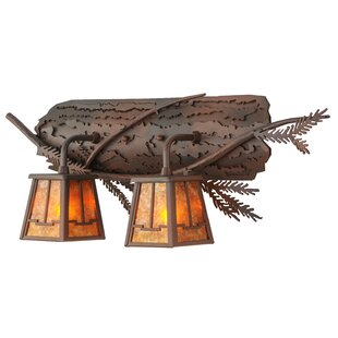 Meyda Tiffany Branch Valley View 2-Light Vanity Light