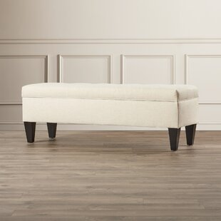 Potrero Fabric Storage Bench