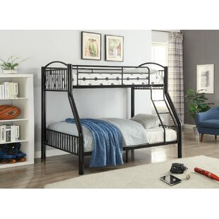 Andelain Metal Twin over Full Bunk Bed