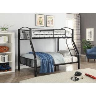 Andelain Metal Twin over Full Bunk Bed by Harriet Bee