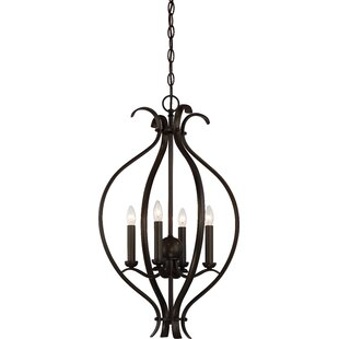 Charlton Home Ehrlich 4-Light Lantern Pendant