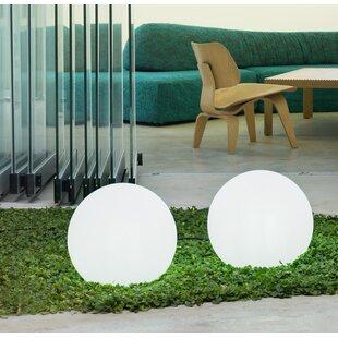 Braylsham White Plug-In Floor Lamp By Sol 72 Outdoor