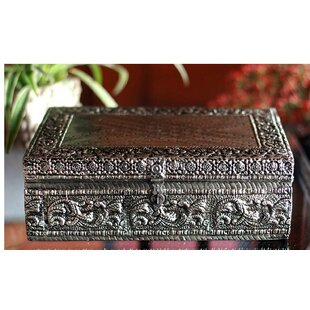 Review Brass Repousse Jewelry Box By Novica