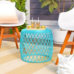 Barkley Metal Side Table by Turn on the B..