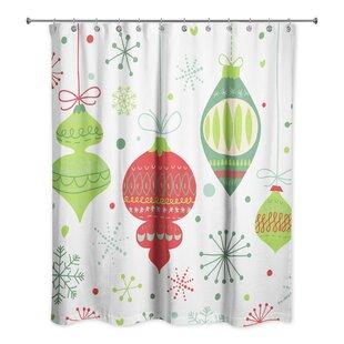 Nannette Ornament Pattern Single Shower Curtain