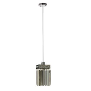 House of Hampton Carmela 1-Light Crystal Pendant