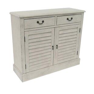 2 Door 2 Drawer Shetter Cabinet by Lamps Per Se