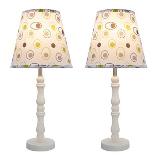 Winchcombe Transitional Wood 20 Table Lamp (Set of 2)