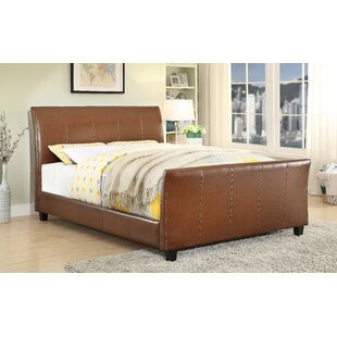 Upholstered Sleigh Bed by Alcott Hill