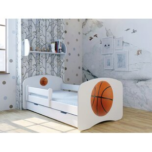 Basketball Convertible Toddler Bed With Drawer By Zoomie Kids