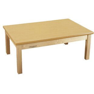 Comparison Droitwich Wood Rectangle Kids Writing Table By Harriet Bee