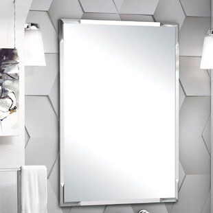 Compare & Buy Faceted Flush Mount Bathroom/Vanity Mirror By Gatco