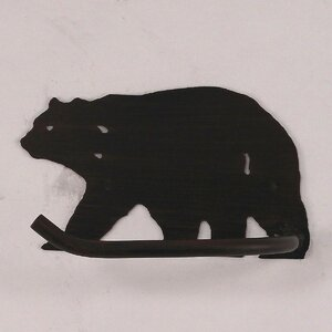Bear Wall Mounted Toilet Paper Holder Coast Lamp Mfg.