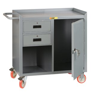 Mobile 42W Steel Top Workbench by Little Giant USA
