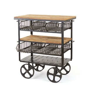 Kaydence Bar Cart by 17 Stories