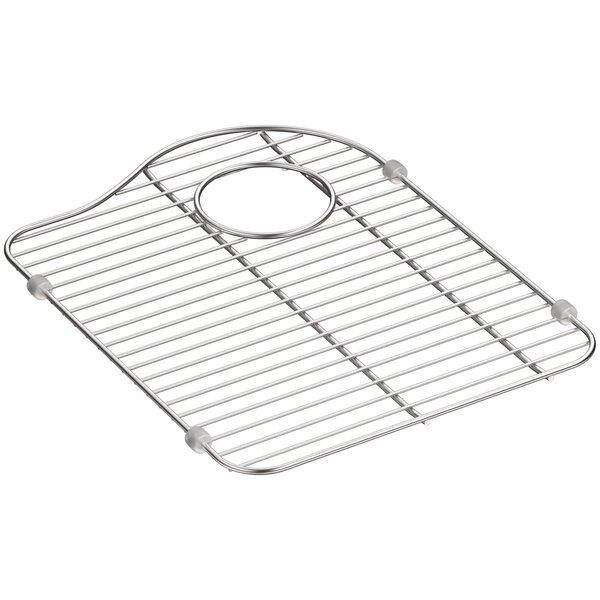 K 5135 St Kohler Hartland Stainless Steel Sink Rack For Right Hand Bowl Reviews Wayfair