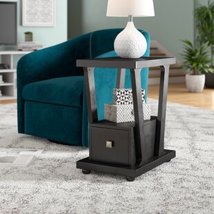 Seeley End Table With Storage