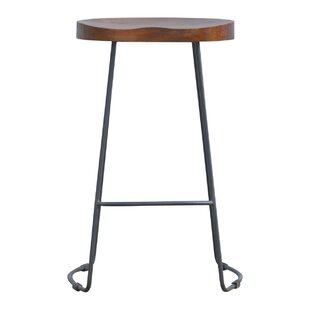 Criss Adjustable Height Bar Stool 17 Stories