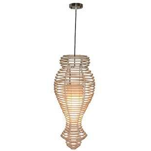 Salvatore 1-Light Novelty Pendant by Bay Isle Home