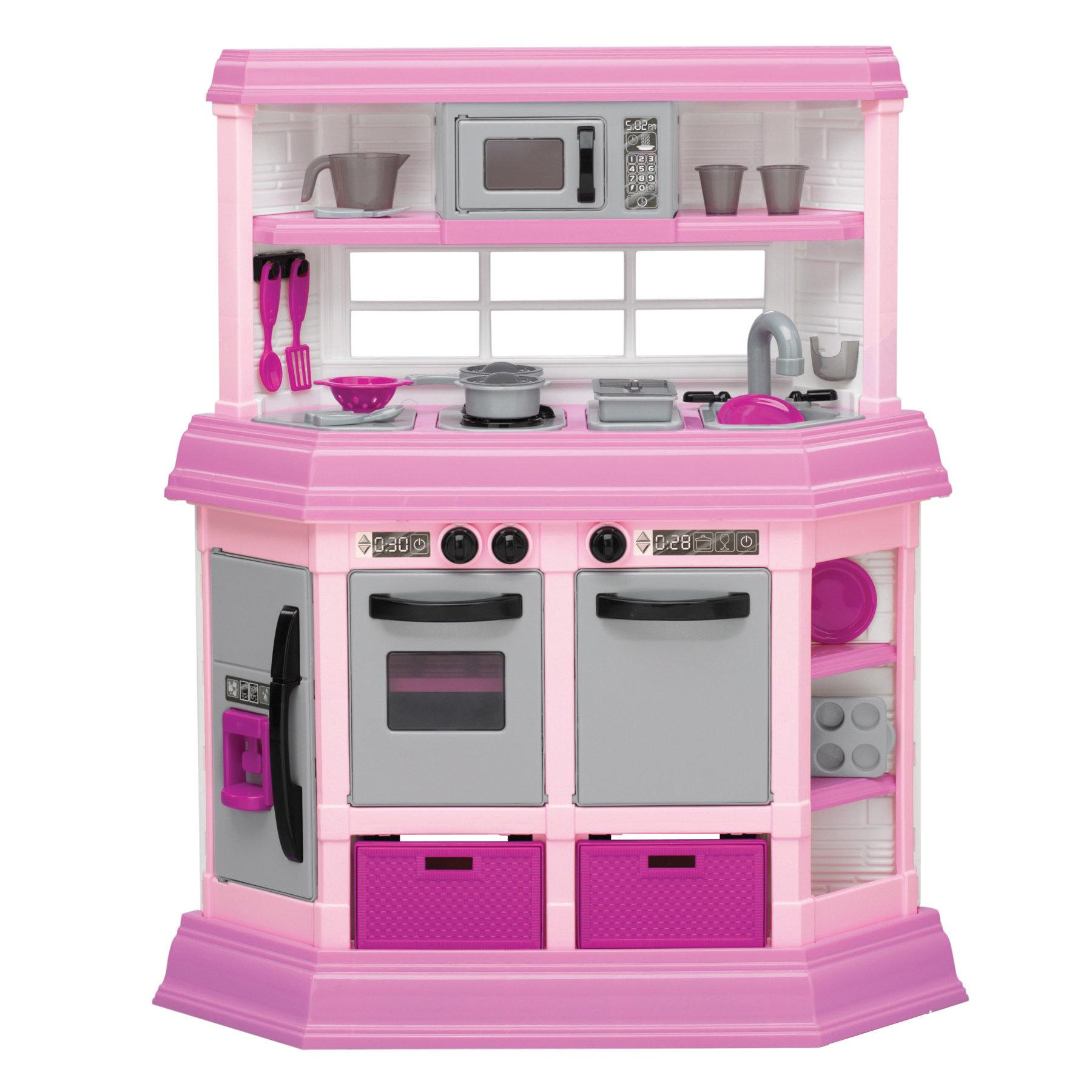 American Plastic Toys 22 Piece Custom Kitchen Set Reviews Wayfair