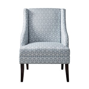 Aranha Swoop Armchair by Highland Dunes