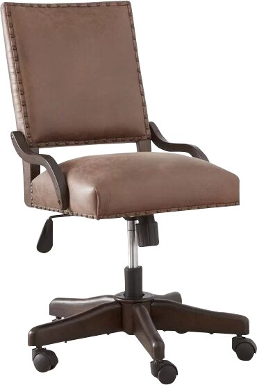 Bram Kids Leather Desk Chair