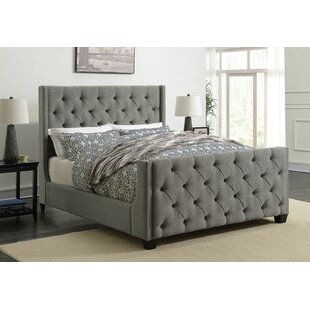 Mercer41 Bottrell Upholstered Panel Bed