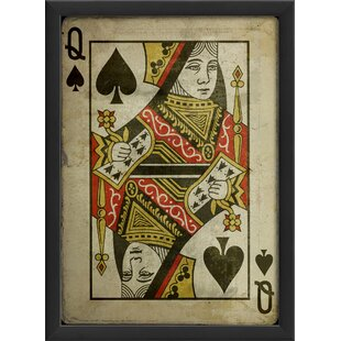Queen of Spades Framed Graphic Art by The Artwork Factory
