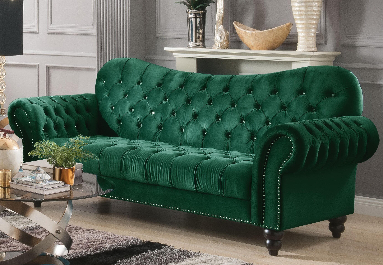 Everly Quinn Rogers Chesterfield Sofa