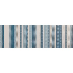 Vibrance 8cm x 24.8cm Ceramic Mosaic Tile in Blue