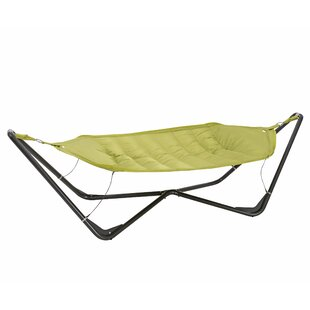 TrueShade™ Plus Gondola Cotton and Polyester Hammock with Stand