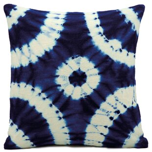 Nords Denim Wool Throw Pillow by Nourison Sale
