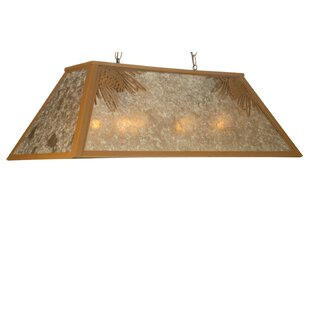 Meyda Tiffany Mountain Pine 6-Light Pool Table Light