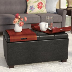 Sutton Storage Ottoman by Three Posts