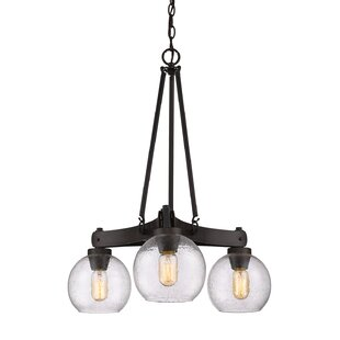 Trent Austin Design Fulton 3-Light Shaded Chandelier