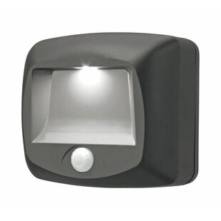 Mr. Beams Plastic Motion-Sensing 1 Light LED Stair Lights