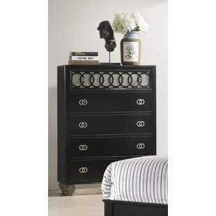 Everly Quinn Gingrich 5 Drawer Chest